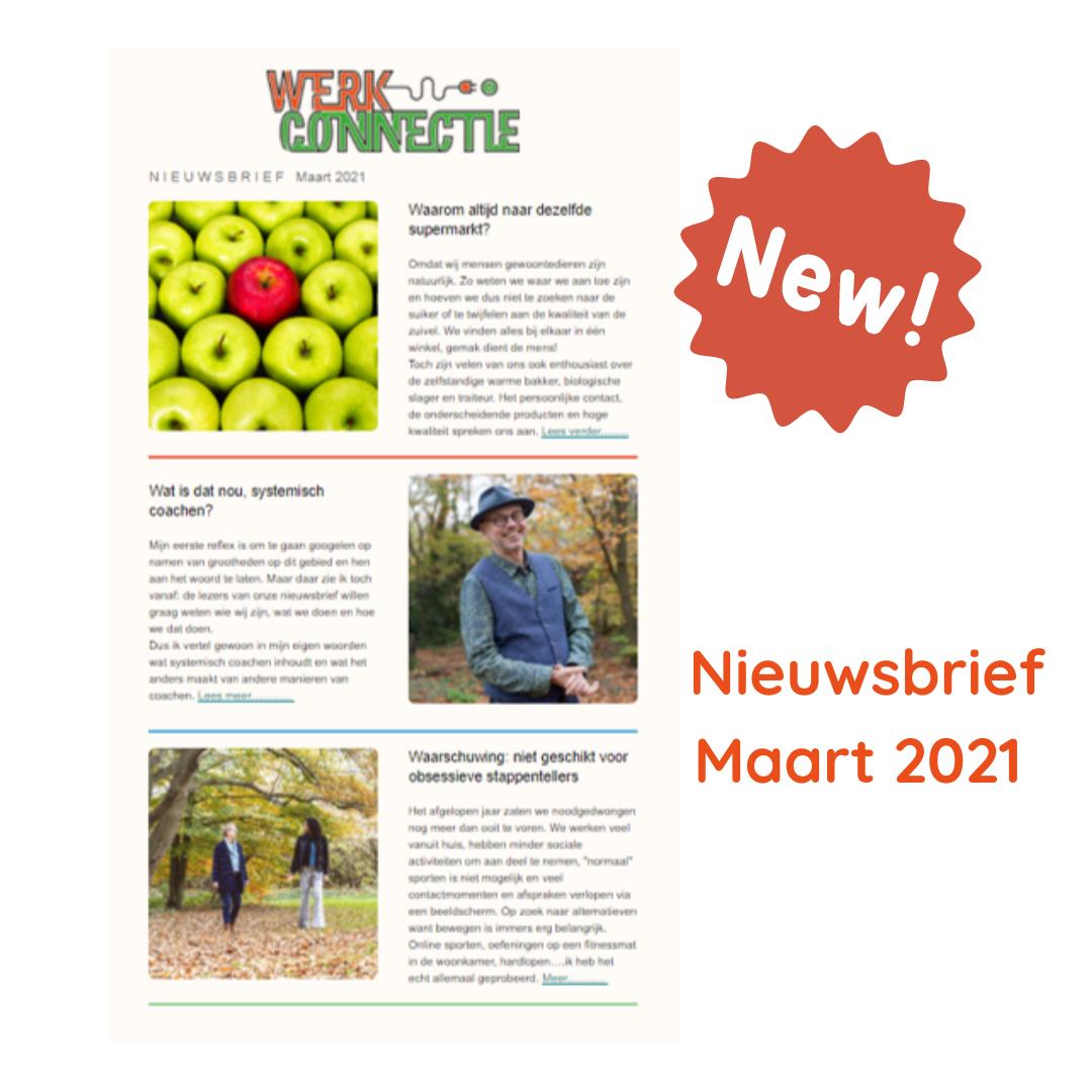 Werkconnectie Nieuwsbrief maart 2021