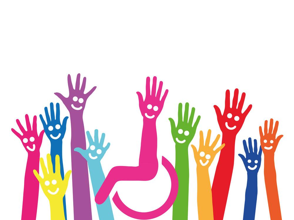 Inclusie - baancreatie handen